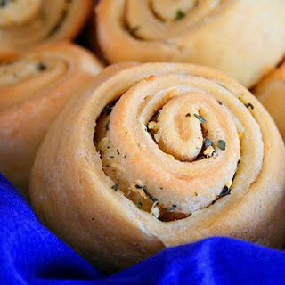 Garlic and Herb Rolls (Low Carb).