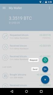 Bitcoin Wallet - Coinbase - screenshot thumbnail