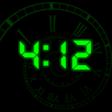 BlackTime - Always ON clock icon