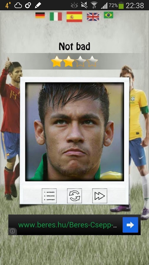 Quizio - Football nation - screenshot