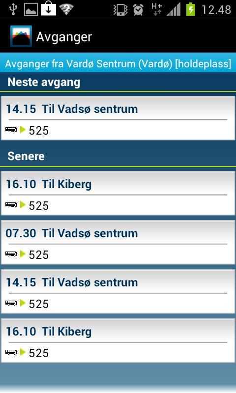 Reiseplanlegger 177 Finnmark - screenshot
