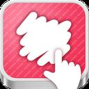 긁어부자 mobile app icon