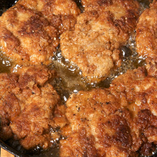 Pan-Fried Chicken Thighs.