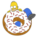 Simpsons HD Puzzle icon