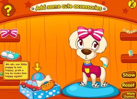 Screenshot of Puppy Beauty Spa Salon