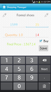 Shopping List Manager screenshot 3