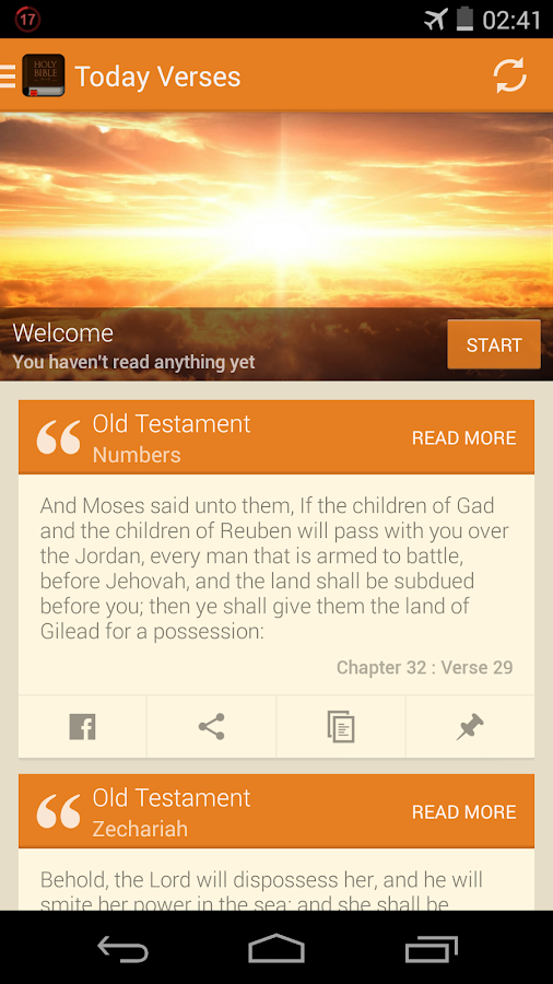 The Bible King James (KJV) - screenshot