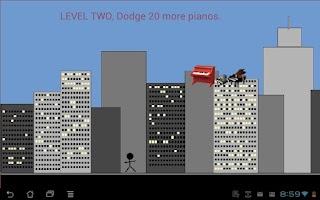 Screenshot of Piano Man