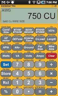 ElectriCalc Pro Calculator- screenshot thumbnail