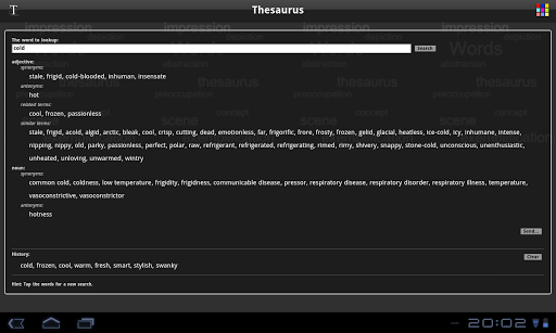 【免費書籍App】Thesaurus Free-APP點子
