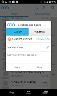Mr. Number-Block calls & spam - screenshot thumbnail