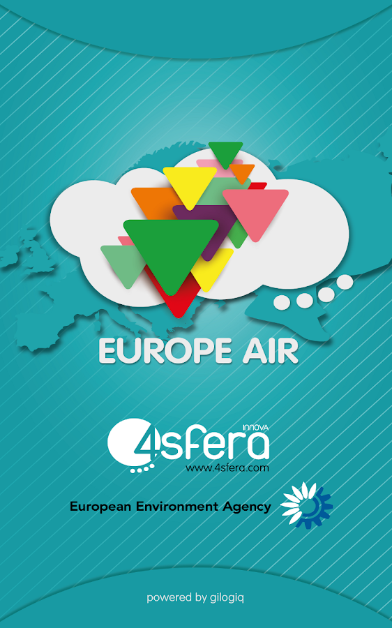 EuropeAir - Air Quality Europe: captura de pantalla