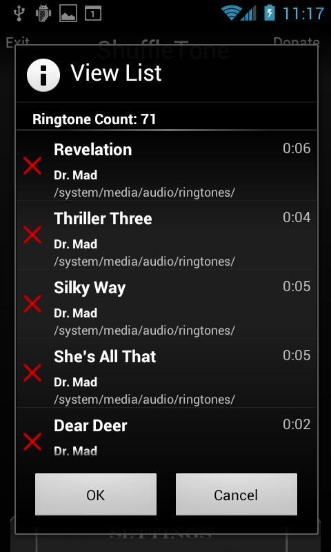 ShuffleTone 3.0- screenshot