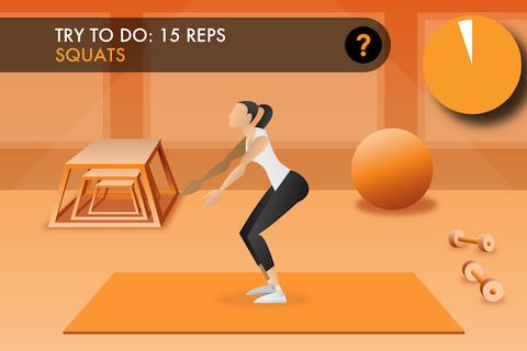 Power 20 Fitness Trainer FREE - screenshot