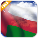 3D Oman Flag Live Wallpaper