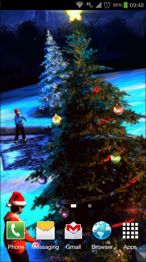 Christmas 3d live wallpaper android apps on google play for 3d home wallpaper for android