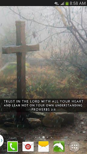 Rainy Day Bible Live Wallpaper