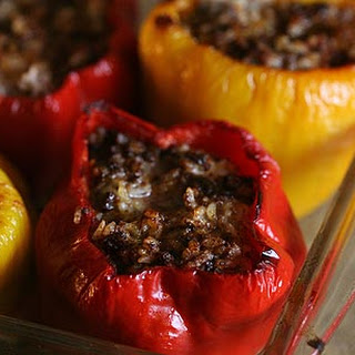Mom's Stuffed Bell Peppers.