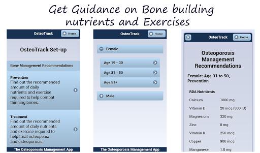 OsteoTrack Manage Osteoporosis