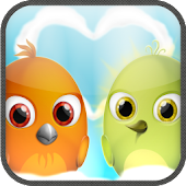 "Crazy Love Birds for 7"" Tablet"