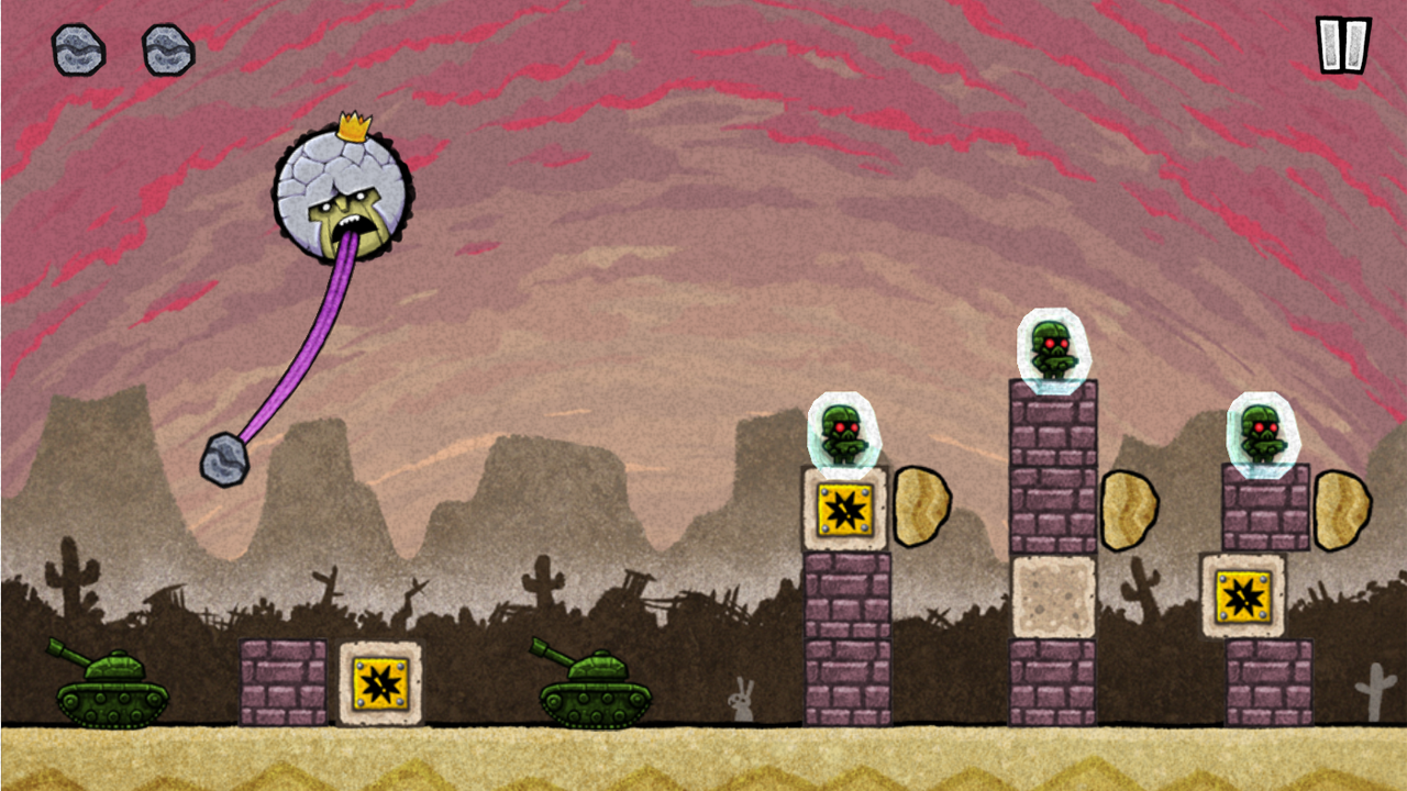 King Oddball- screenshot