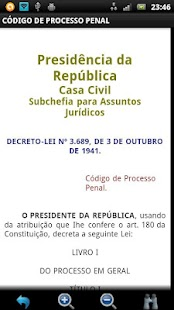 Código de Processo Penal FREE - screenshot thumbnail