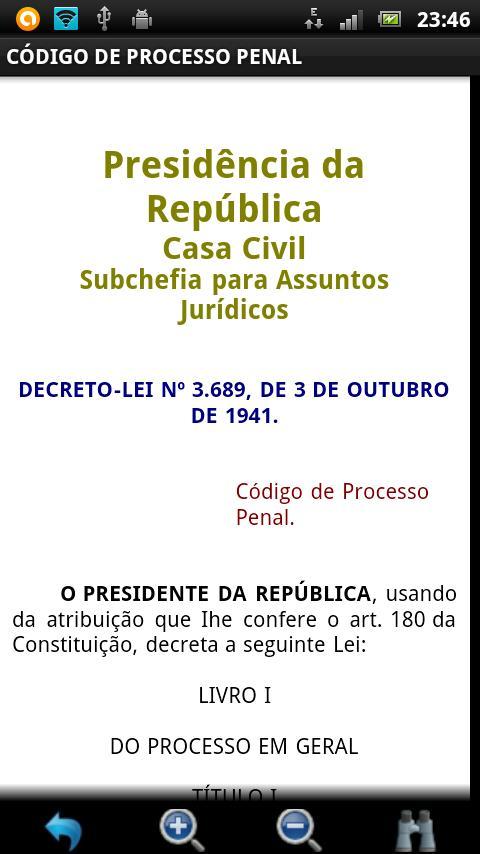 Código de Processo Penal FREE - screenshot