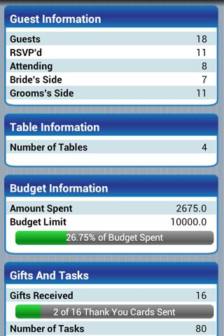 Wedding Planner Premium - screenshot