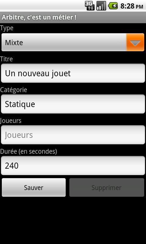 Arbitre, c'est un métier ! - screenshot