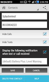 Hide Text SMS & Calls Screenshot 5