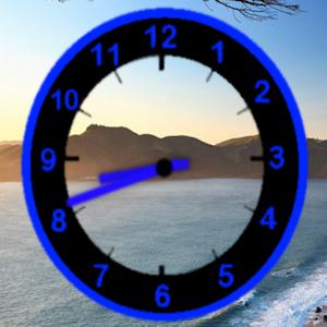 Neon Clock Widget.apk 1.4