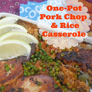 One-Pot Pork Chop and Rice Casserole.