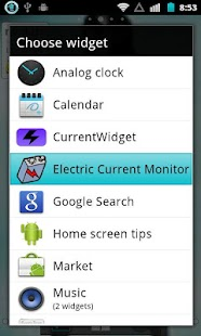 Electric Current Monitor - screenshot thumbnail