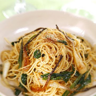 Spaghetti with Ramps