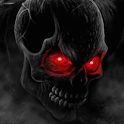 Skull Red Eyes Live Wallpaper logo