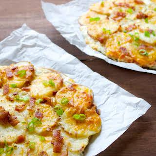 Loaded Baked Potato Pizza.