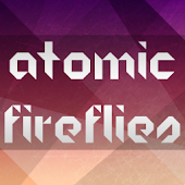 GO SMS Atomic Fireflies Theme