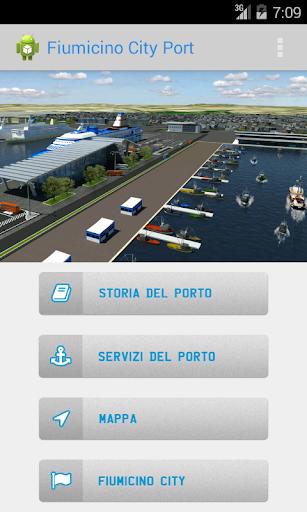 Fiumicino City Port