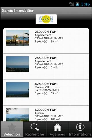 Darnis Immobilier- screenshot