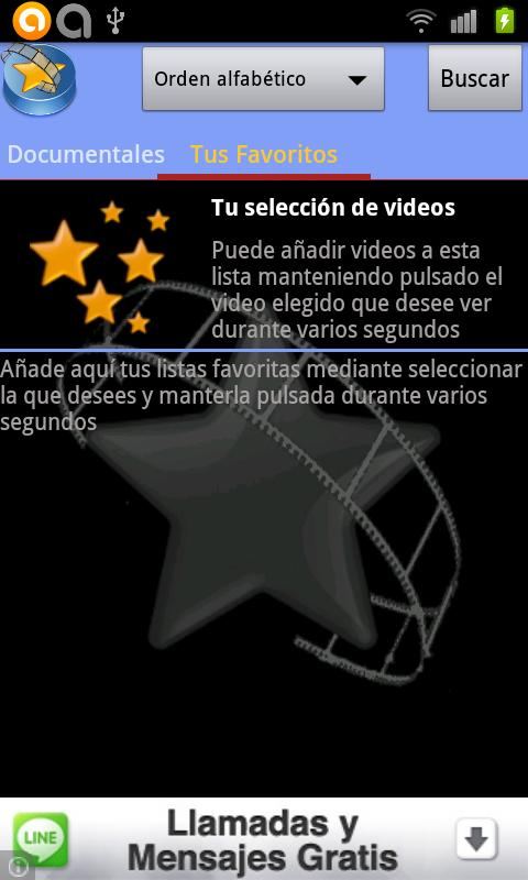 Free Movies spanish at Youtube - screenshot