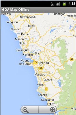 GOA Offline Map