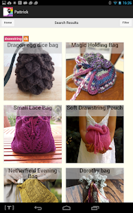 Pattrick: Ravelry Super Search- screenshot thumbnail