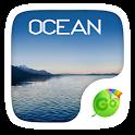 Ocean Emoji GO Keyboard Theme icon