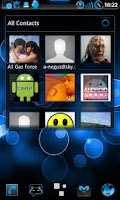 Screenshot of GOWidget Theme SteelBlue-Free