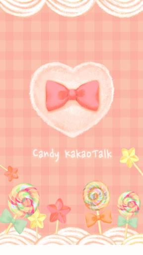 [ 카카오톡테마 ] 달콤 사탕해