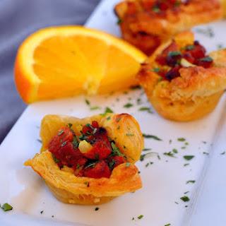 Citrus Sausage Tartlets.