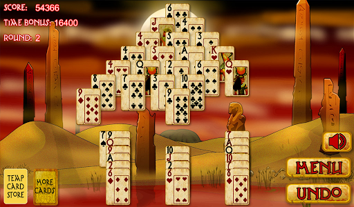 Pyramid Solitaire Mummy Curse