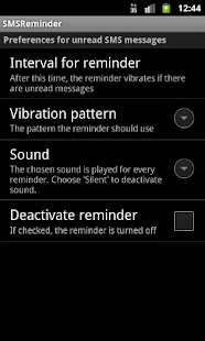 SMSReminder - screenshot thumbnail