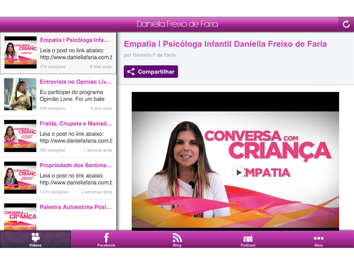 Daniella Faria- screenshot