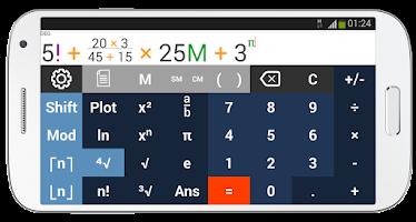 Screenshot of AkbarCalc Calculator